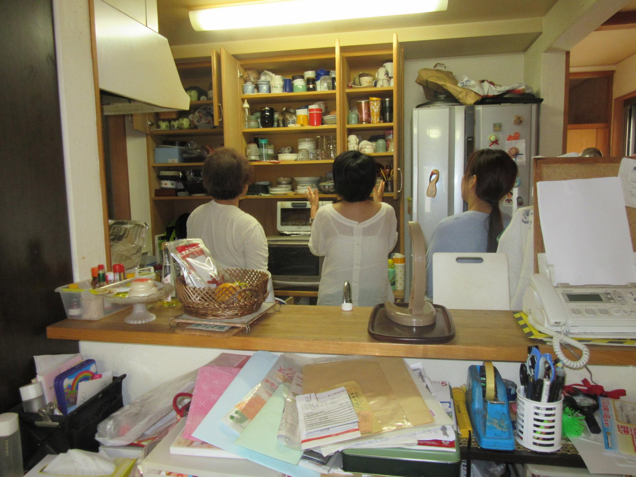 1ヶ月片付け(15日目)キッチンの「密」をなくす!@「家時間」充実プロジェクト